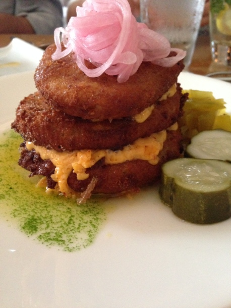 Fried green tomatoes - classic