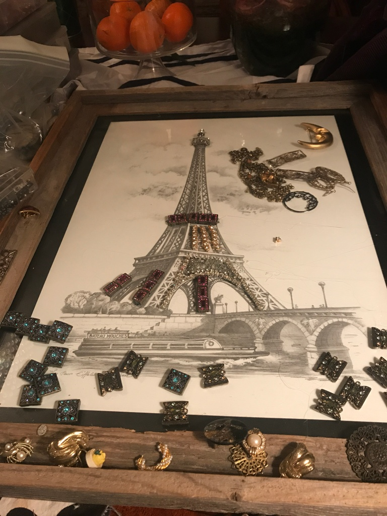 fayeruz fayeruz regan crafting eiffel tower eiffel tower art france french art